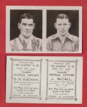 Preston North End Joe McCall & Sunderland Charles Buchan England